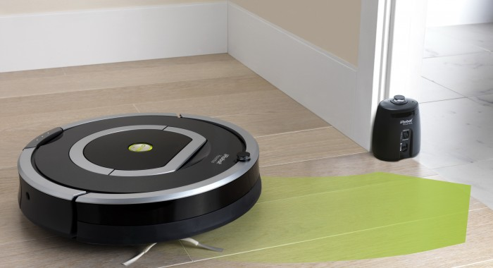 NEW ROOMBA ROOM-TO-ROOM TRACK