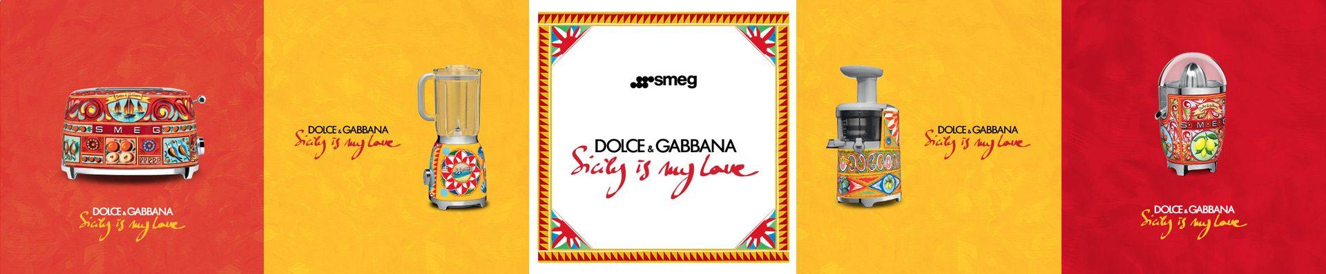 Эксклюзивная серия от Dolce & Gabbana и Smeg